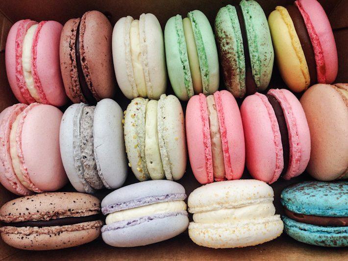 Bonheur-macarons