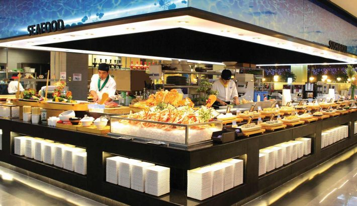 TODAI Buffet-Seafood Section