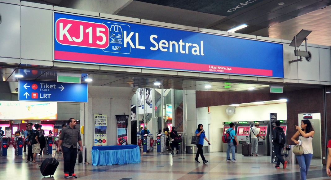 lrt-kelana-jaya-line-entrance-kl-sentral
